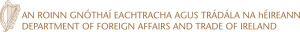 Department of Foreign Affairs and Investment (Government of Ireland) logo - the DFA support us through their Emigrant Support Programme