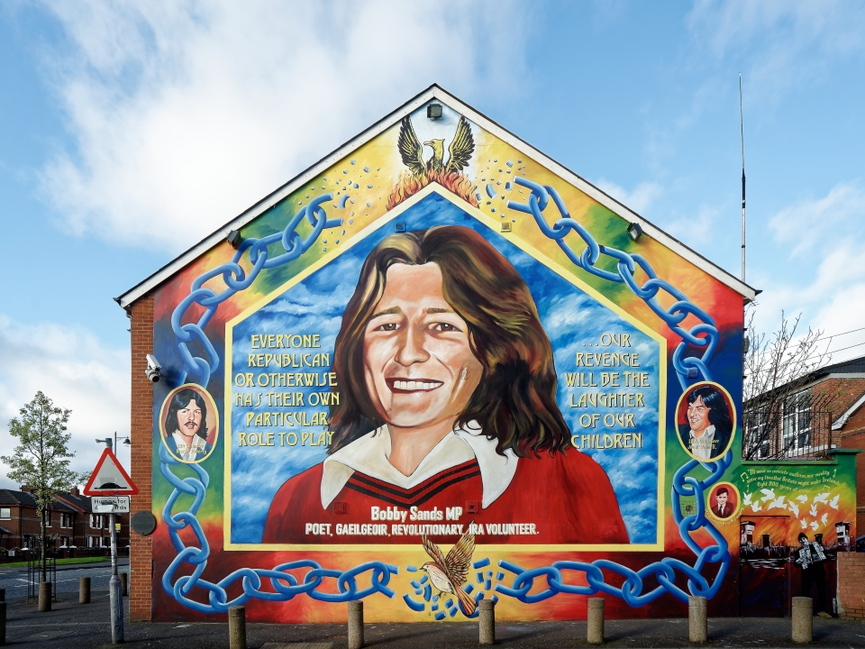 Listen to lif liverpool irish festival for Bobby sands mural