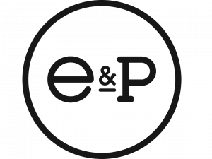 Everyman and Playouhse logo (e&p in a circle)