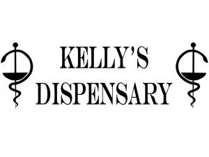 Kelly's Dispensary logo