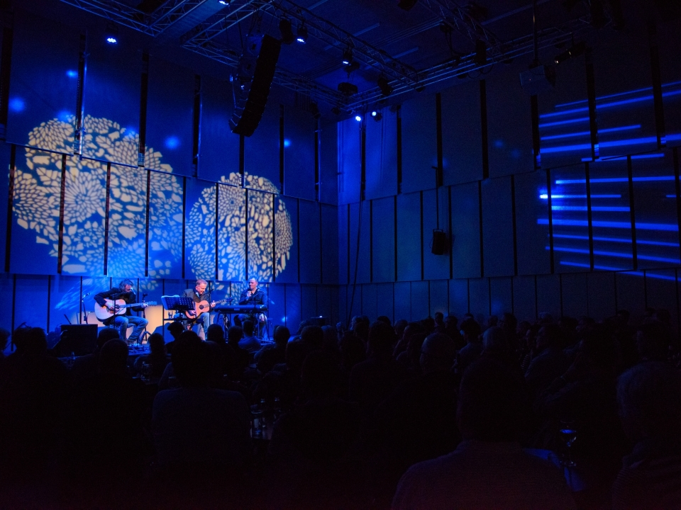 Liverpool Philharmonic's Music Room, is use for a music event