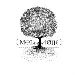 Mellowtone - screenprint of the Mellowtone logo and tree