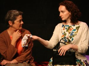 Sorcha Brooks, Pamela Flanagan as Pegeen and Aileen in Body & Blood (c) Unclouded Moon Productions (web)