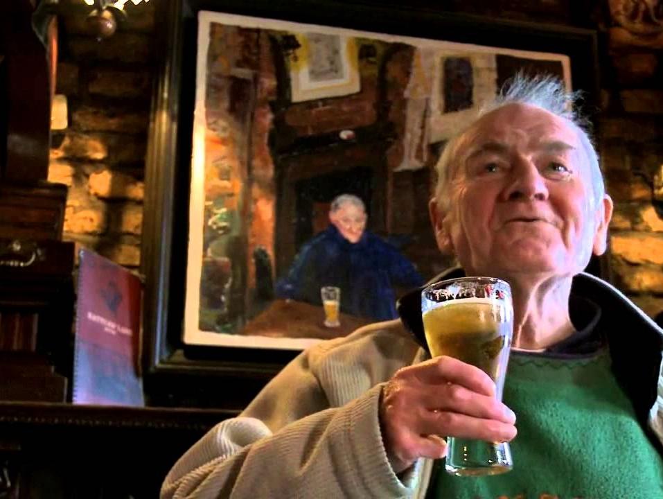 Promotional still from the film, The Irish Pub