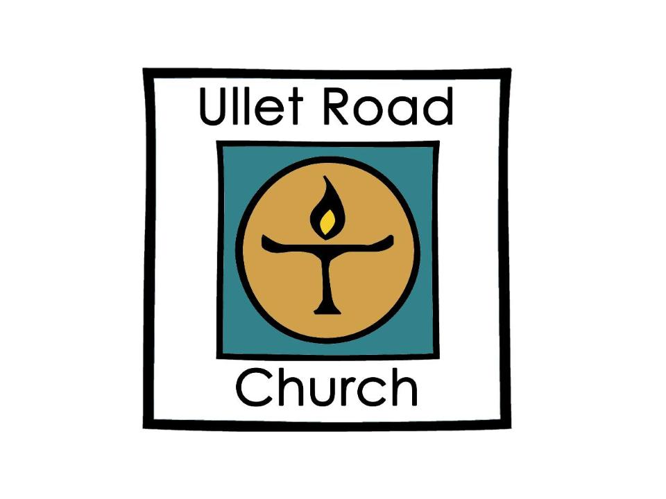 Ullet Road Unitarian Church logo of candle burning