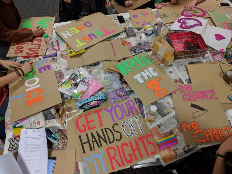 Collage Workshop: Spread the Word and Repeal the 8th