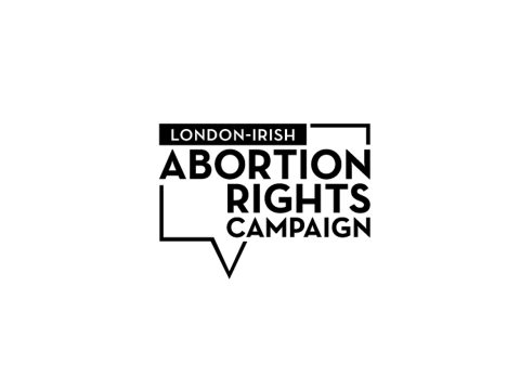 London-Irish Abortion Rights Campaign speech bubble logo