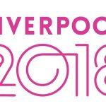 Liverpool 2018 logo denotes activities that sit beneath the Liverpool City Council's 2018 cultural programme.