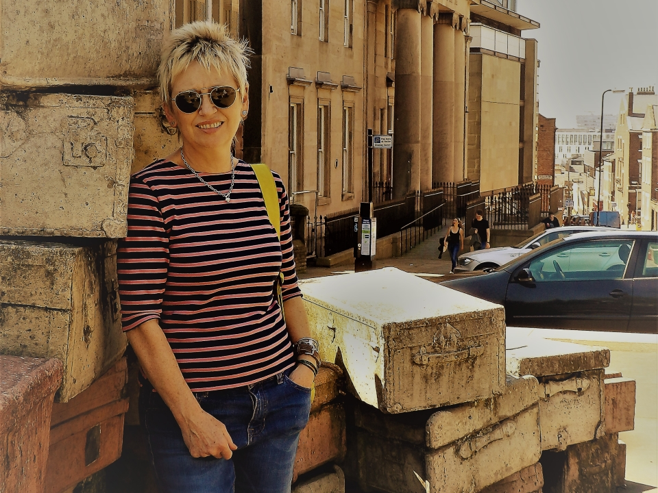 Gerry on Hope Street (c) Karen Richards