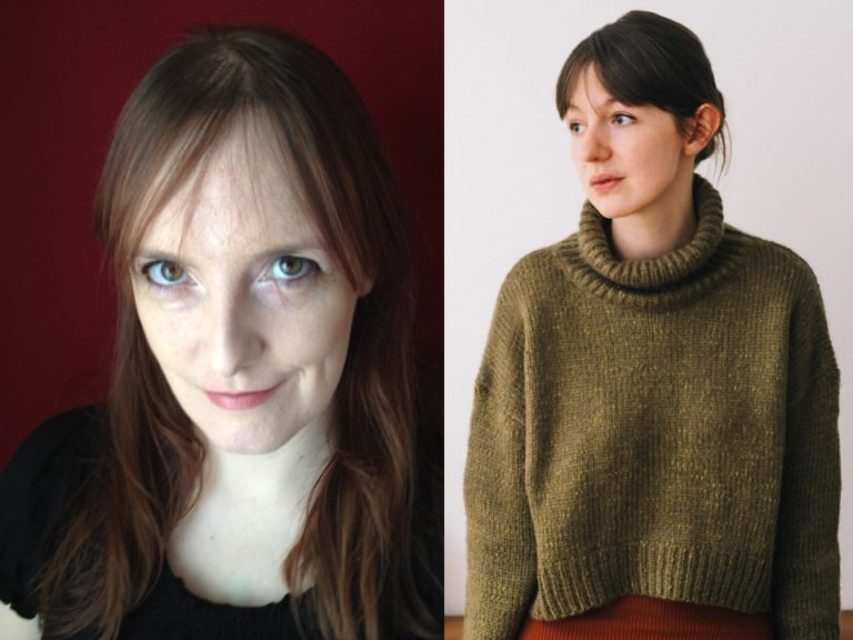 Image features Lisa McInerney portrait and Sally Rooney portrait, the latter by Jonny I Davies