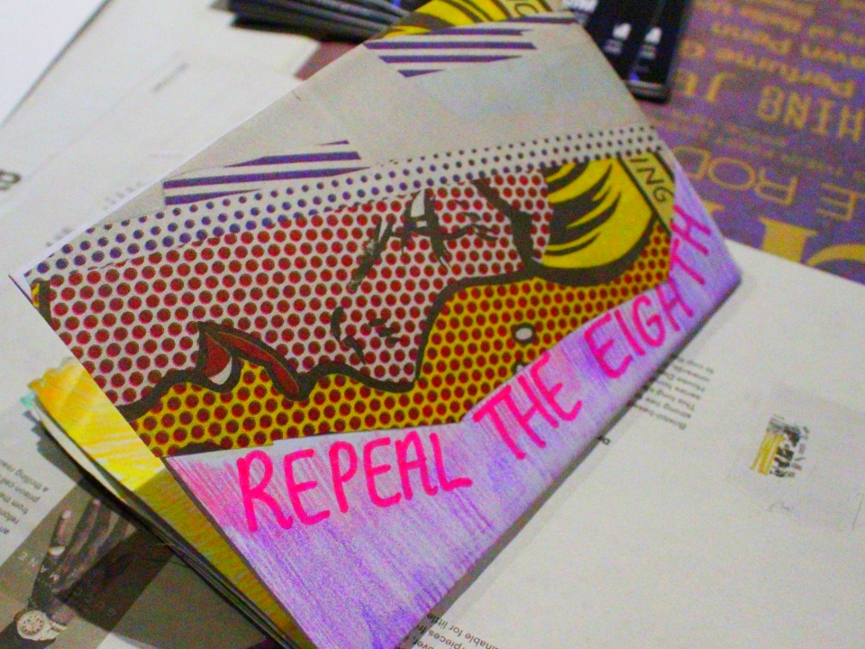 Sorcha Boyle Exhibition - Repeal the Eighth - Private View