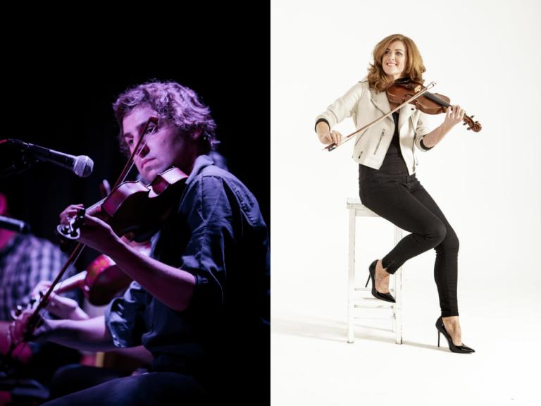 A bridge of Tunes: Bernadette Nic Gabhann and Mikey Kenney