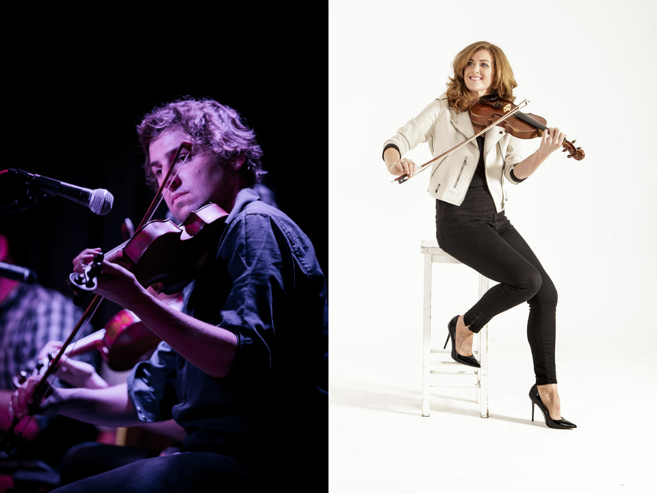 A bridge of Tunes: Bernadette Nic Gabhann and Mikey Kenney