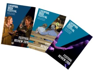 Front covers of Festival Reviews