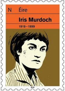 Irish Murdoch commemorative stamp