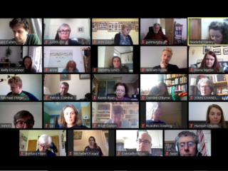 Irish in Britain-Culture forum screen grab-web